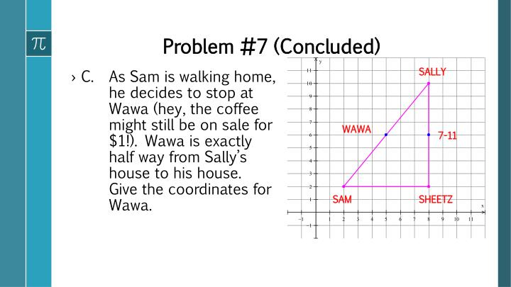 Problem #7 (Concluded)
