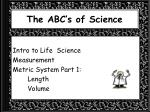 the abc s of science