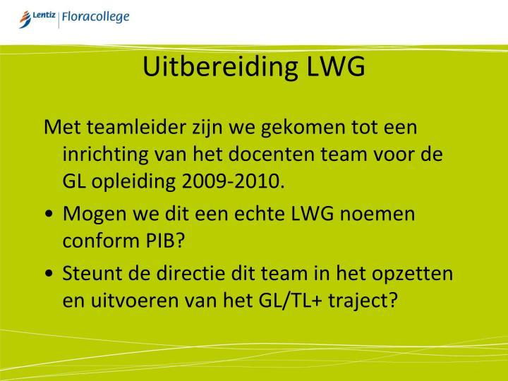 Uitbereiding LWG