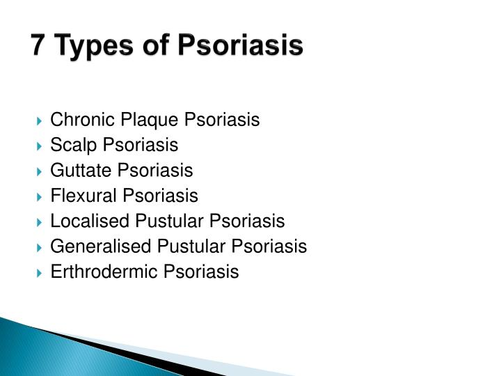 7 Types of Psoriasis