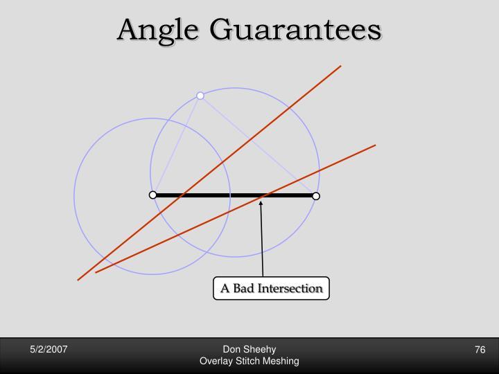 Angle Guarantees
