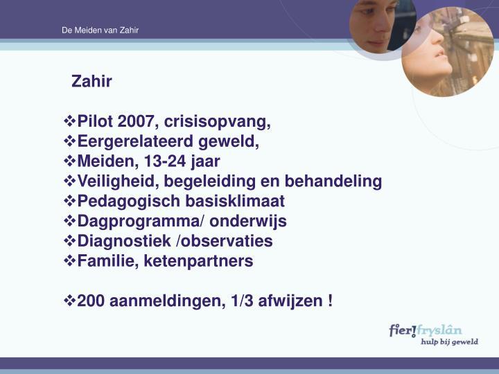 De Meiden van Zahir