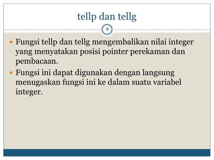 tellp dan tellg