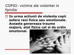 copiii victime ale violentei in familie