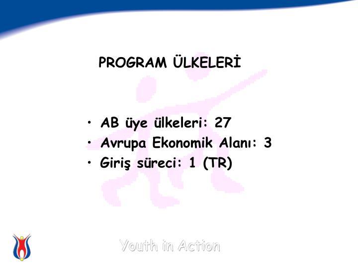 PROGRAM ÜLKELERİ