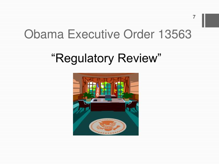 Obama Executive Order 13563