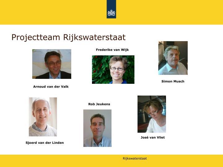 Projectteam Rijkswaterstaat