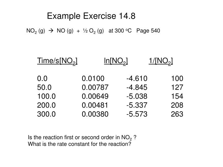 Example Exercise 14.8