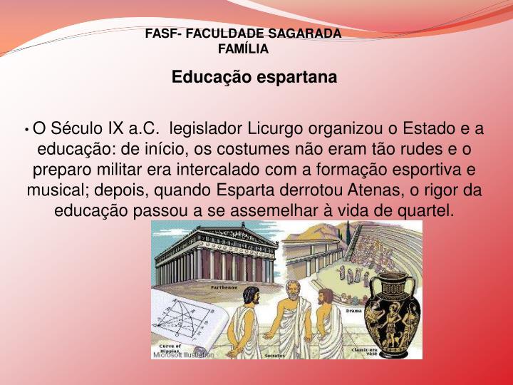 Educação espartana