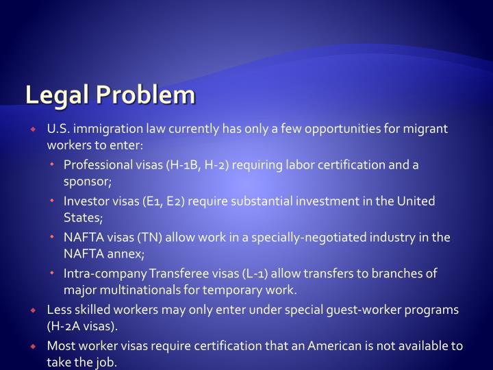 Legal Problem