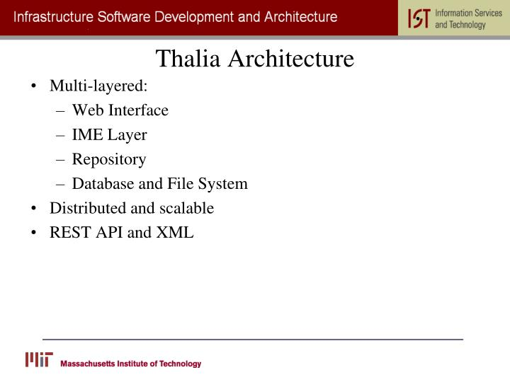 Thalia Architecture