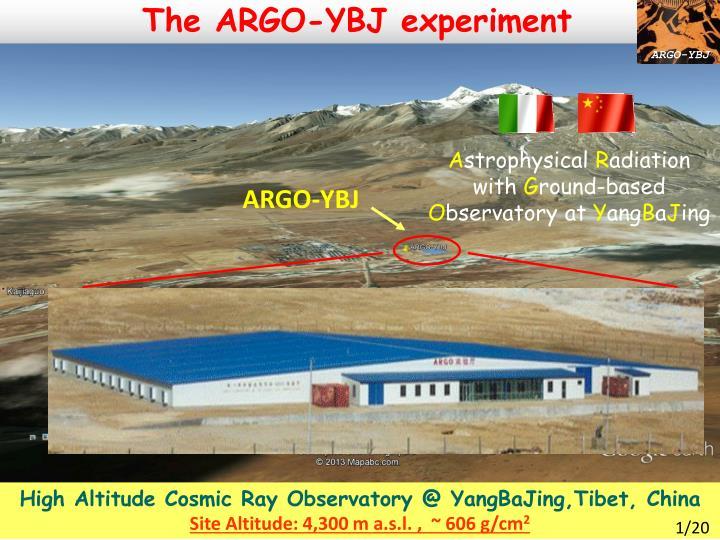 The ARGO-YBJ