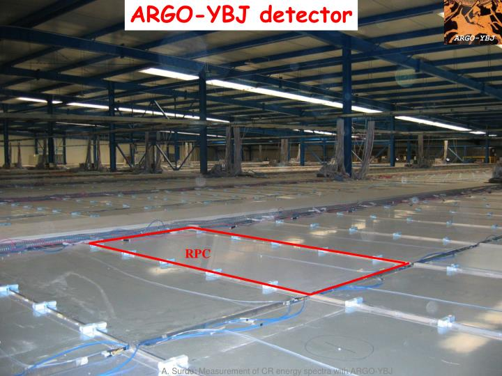 ARGO-YBJ detector