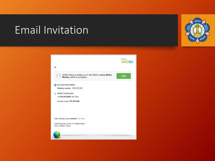 Email Invitation