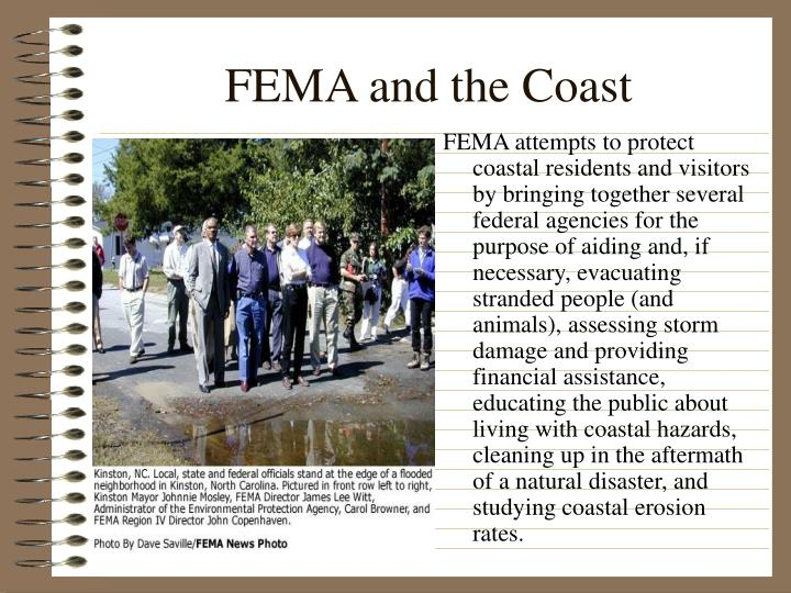 FEMA and the Coast