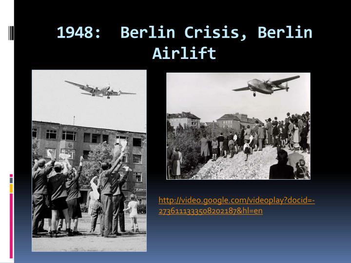 1948:  Berlin