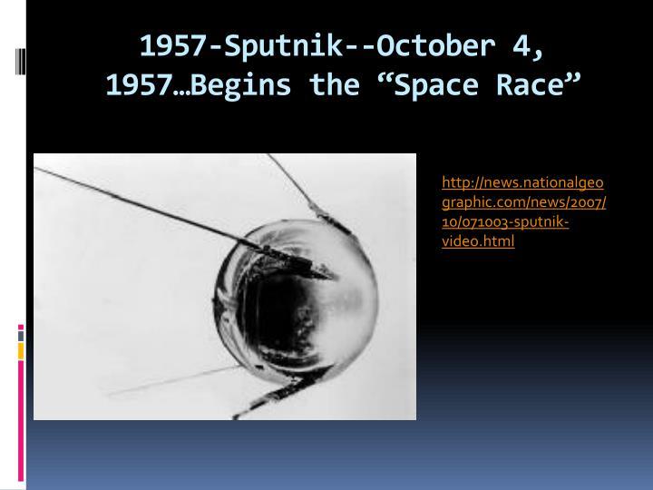1957-Sputnik--October 4,