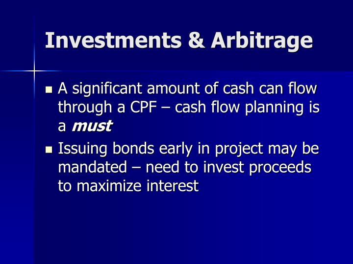 Investments & Arbitrage