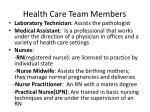health care team members2