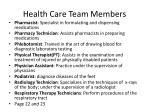 health care team members4