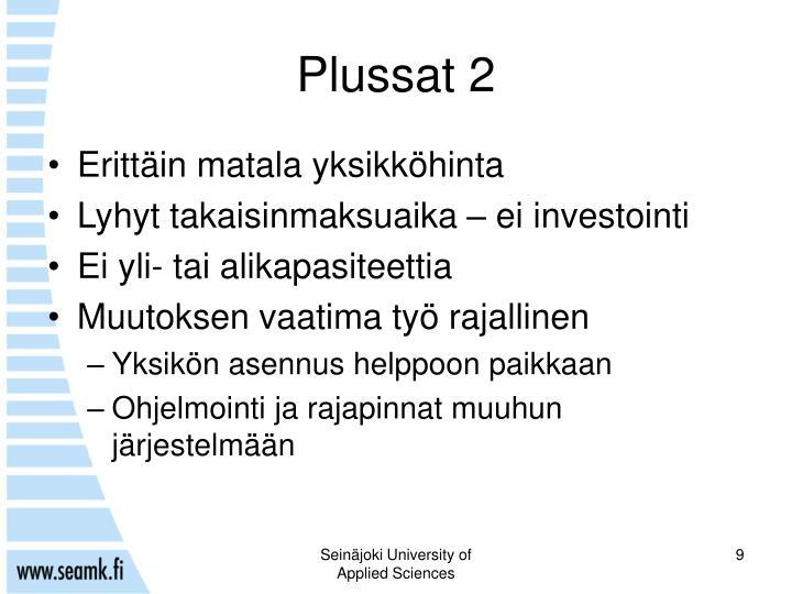 Plussat 2