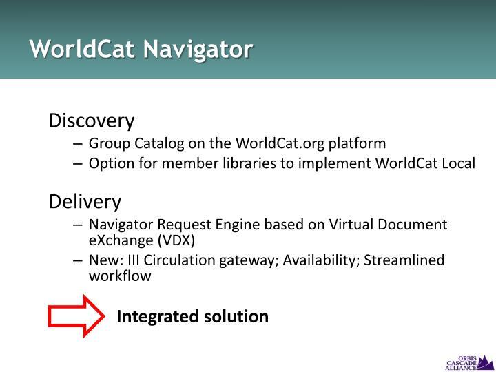 WorldCat Navigator