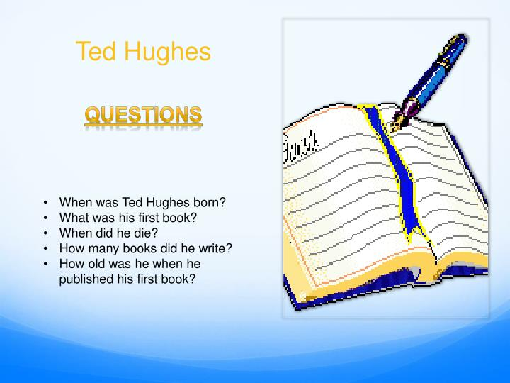 Ted hughes1