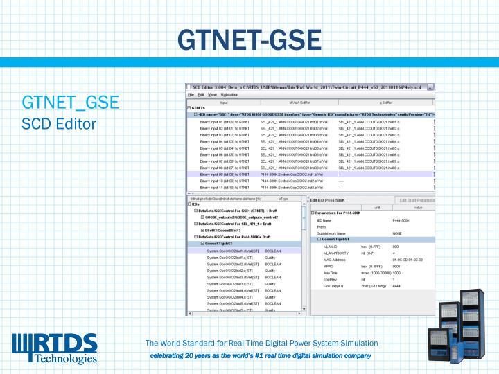 GTNET-GSE