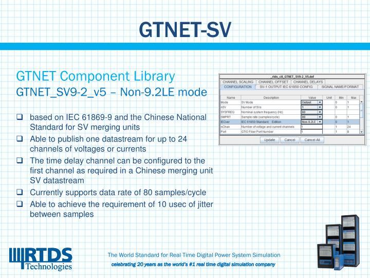 GTNET-SV