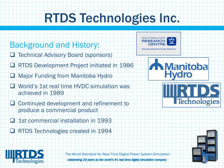 Rtds technologies inc