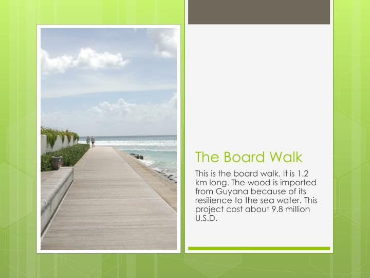 The Board Walk