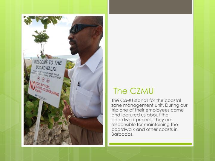 The CZMU
