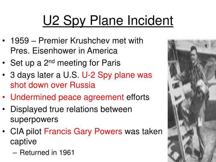 U2 Spy Plane Incident