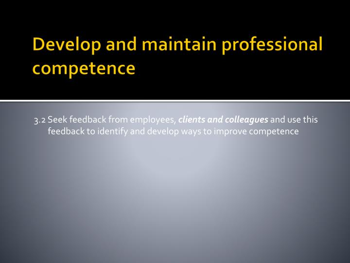 professional competence presentation The education competencies are designed to help educators and administrators develop professional skills and proficiencies  presentation skills  the education .
