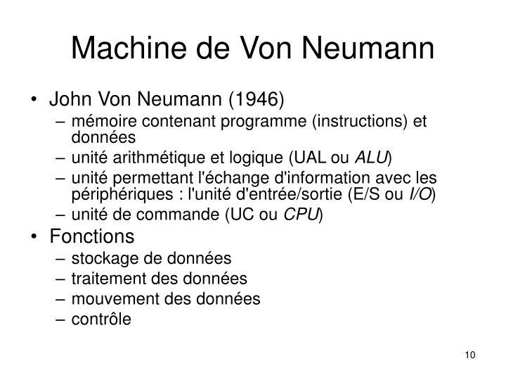 Machine de Von Neumann