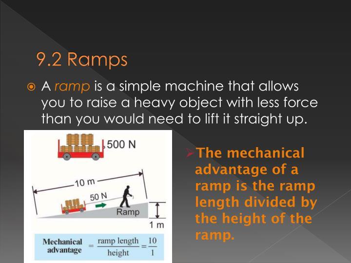 9.2 Ramps