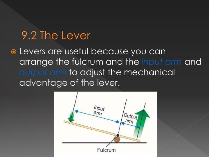 9.2 The Lever
