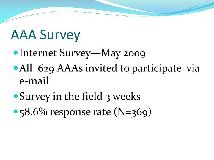 AAA Survey