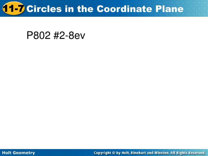 P802 #2-8ev