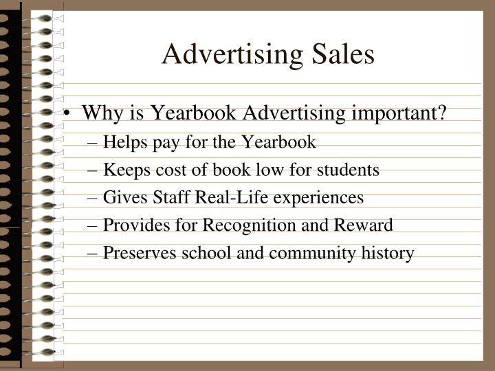 Advertising Sales