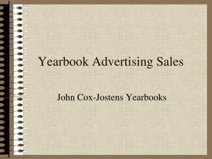 Yearbook advertising sales