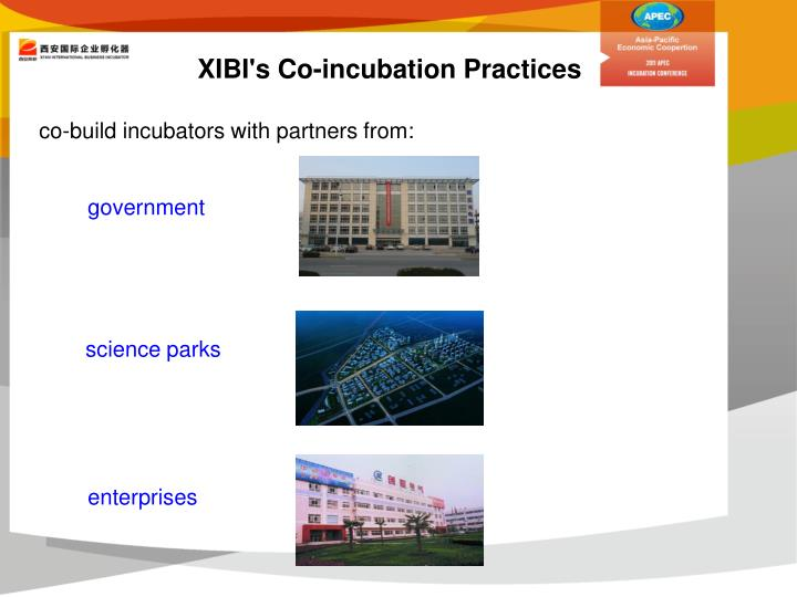XIBI's Co-incubation