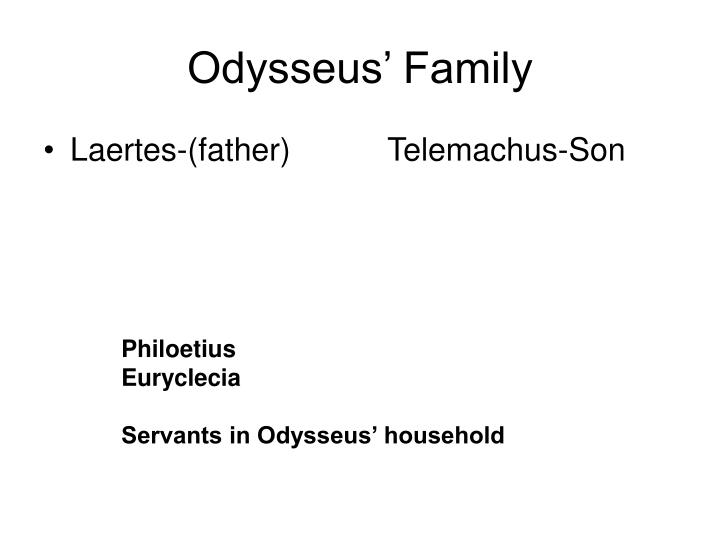 character analysis of odysseus in odyssey Title of the piece the odyssey literary analysis content this essay about homer's the odyssey it further explores odysseus' character, and whether or not he is a.
