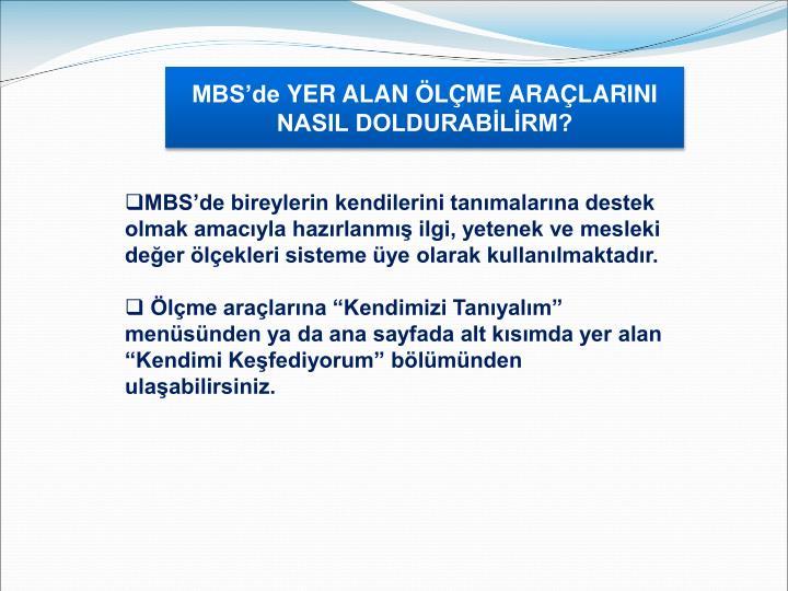 MBS'de