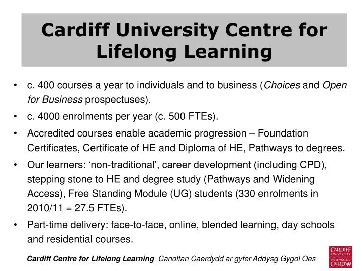 Cardiff University Centre for
