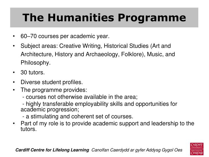 The Humanities Programme