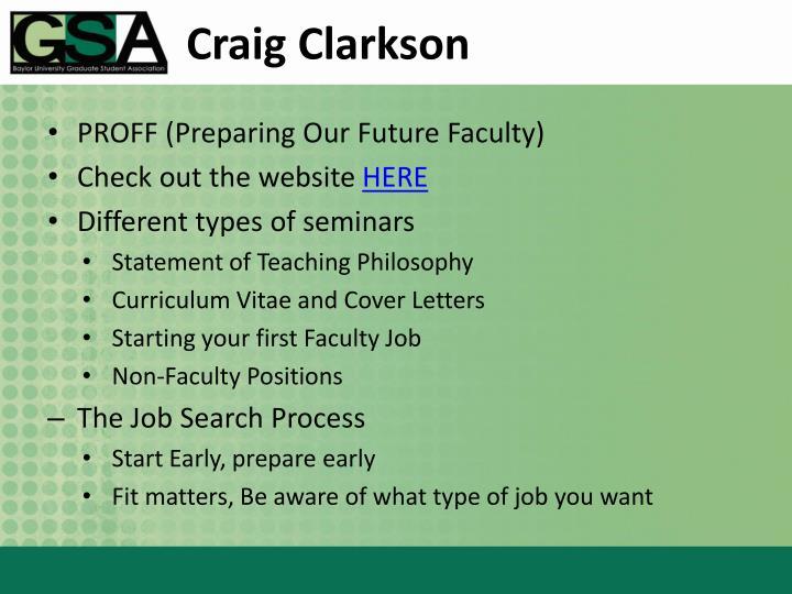 Craig Clarkson