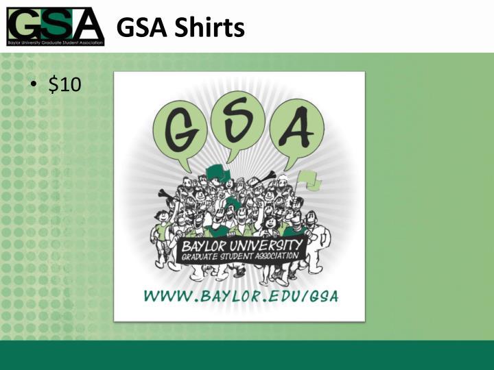 GSA Shirts