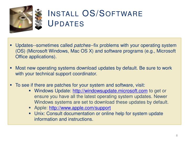 Install OS/Software Updates