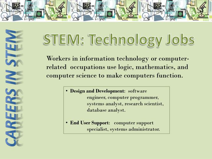 STEM: Technology Jobs